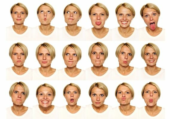 Useful facial expressions
